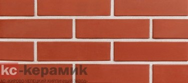 Красный / алебастрово-белый шов